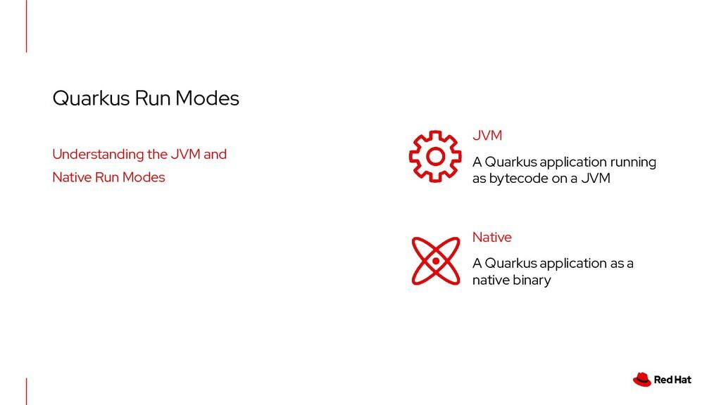Quarkus Run Modes Understanding the JVM and Nat...