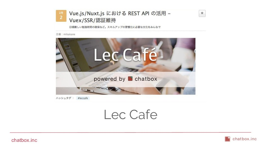 chatbox.inc Lec Cafe