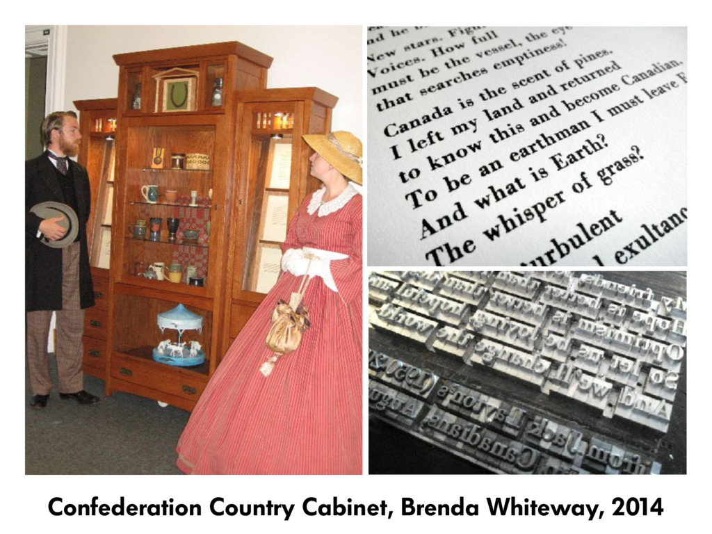 Confederation Country Cabinet, Brenda Whiteway,...