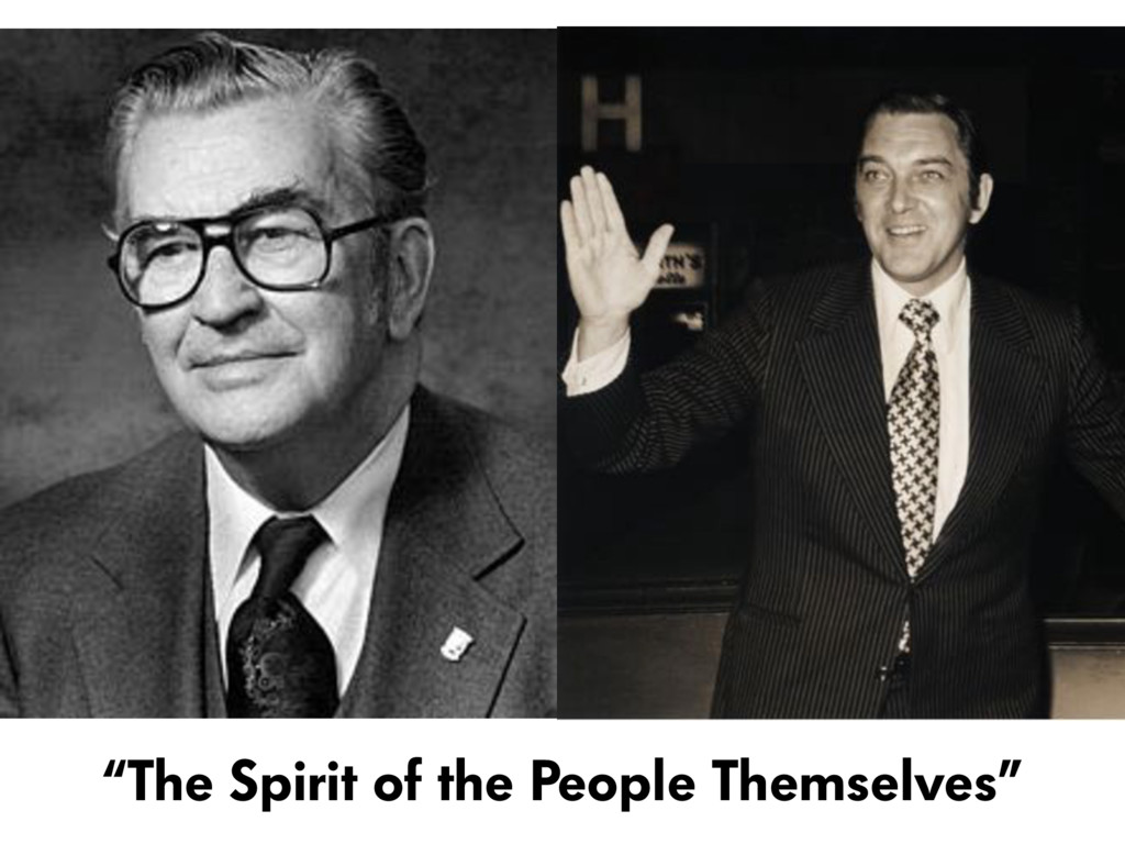 """The Spirit of the People Themselves"""