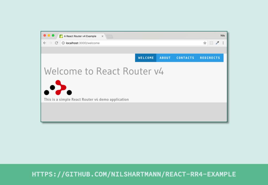 HTTPS://GITHUB.COM/NILSHARTMANN/REACT-RR4-EXAMP...