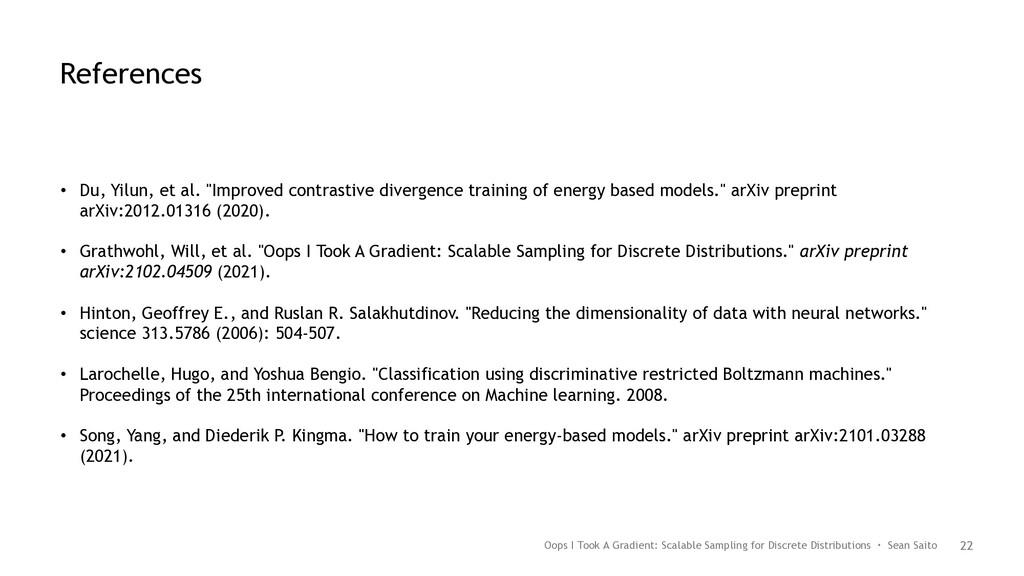 "22 • Du, Yilun, et al. ""Improved contrastive di..."