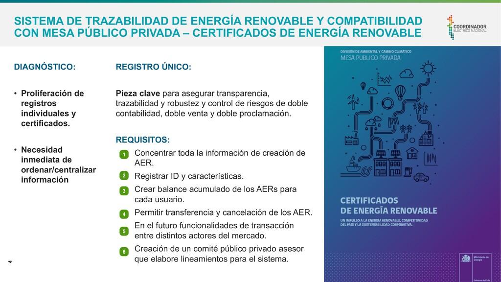 4 SISTEMA DE TRAZABILIDAD DE ENERGÍA RENOVABLE ...