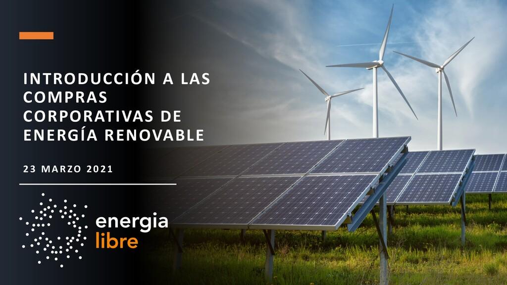 INTRODUCCIÓN A LAS COMPRAS CORPORATIVAS DE ENER...