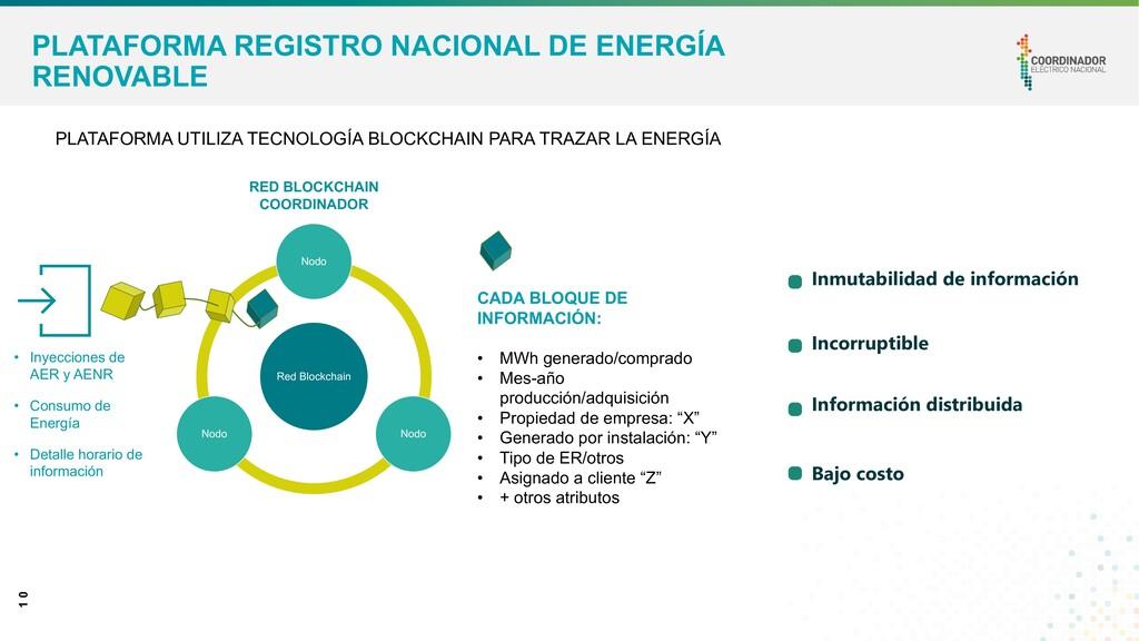 1 0 PLATAFORMA REGISTRO NACIONAL DE ENERGÍA REN...