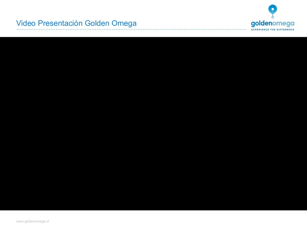 www.goldenomega.cl Video Presentación Golden Om...