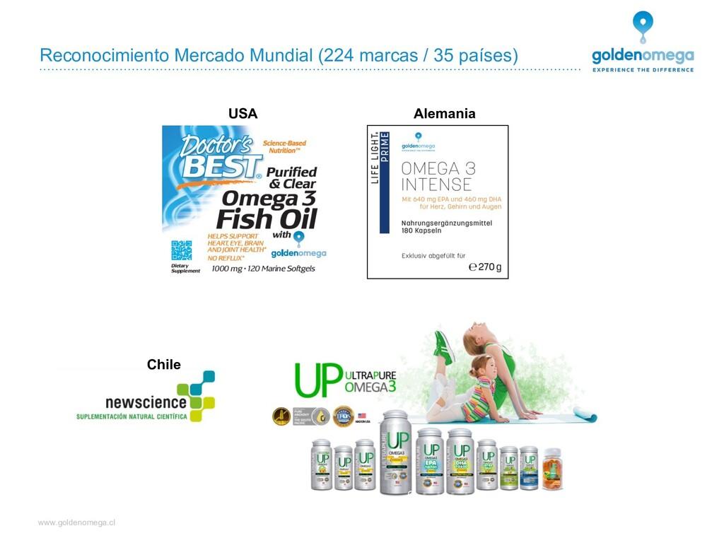 www.goldenomega.cl Reconocimiento Mercado Mundi...