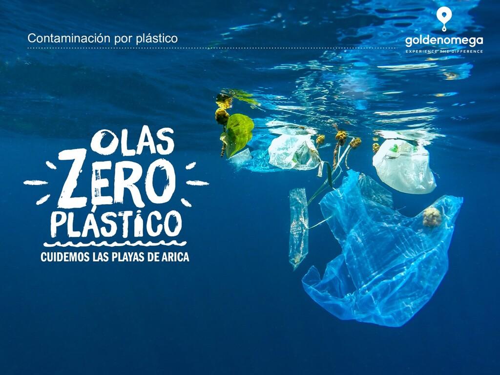 www.goldenomega.cl Contaminación por plástico