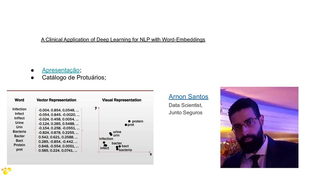 A Clinical Application of Deep Learning for NLP...