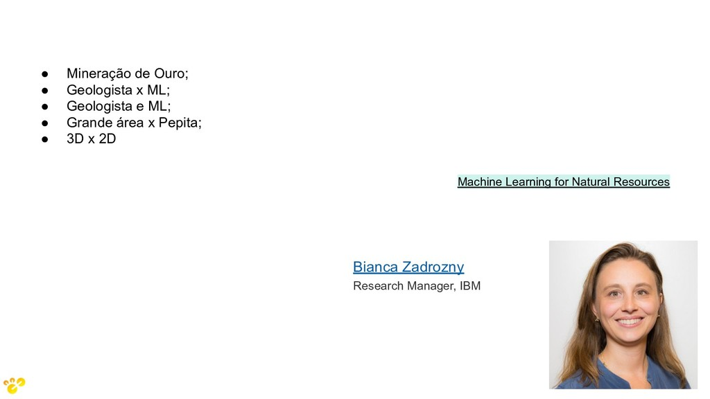 Machine Learning for Natural Resources Bianca Z...