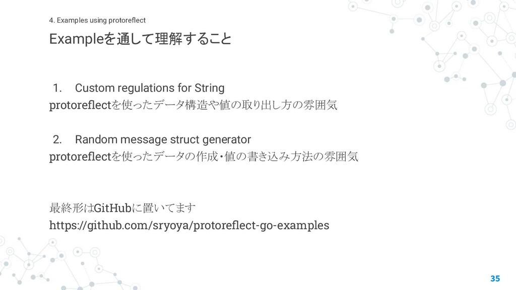1. Custom regulations for String protoreflectを使っ...