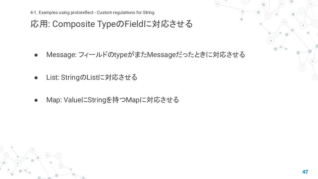 ● Message: フィールドのtypeがまたMessageだったときに対応させる ● Li...