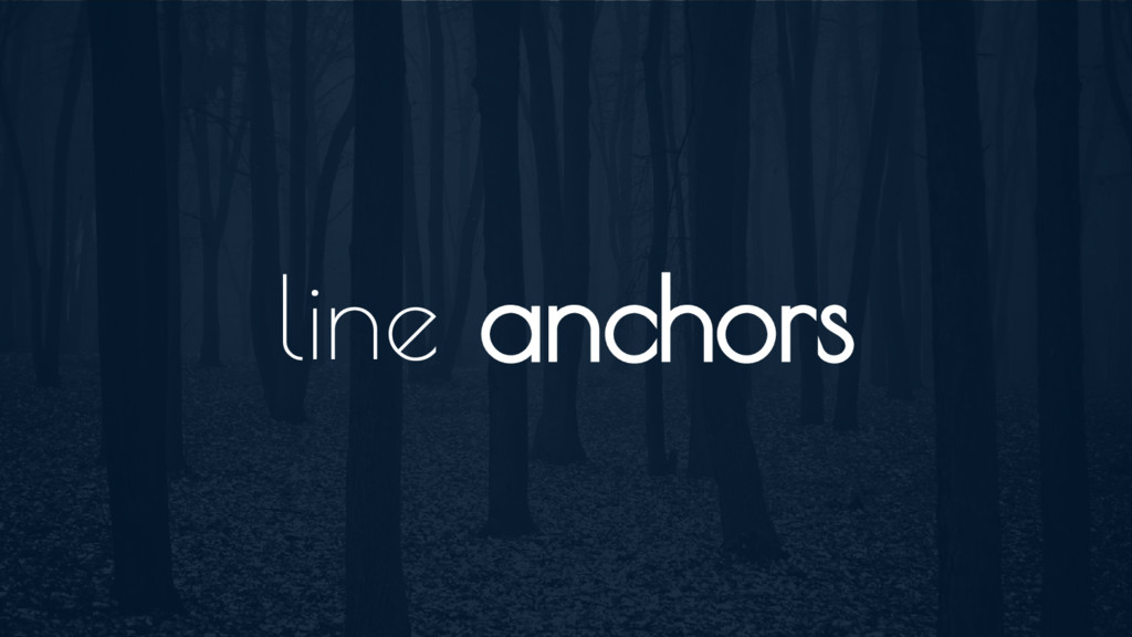 line anchors