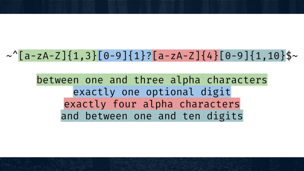 ~^[a-zA-Z]{1,3}[0-9]{1}?[a-zA-Z]{4}[0-9]{1,10}$...