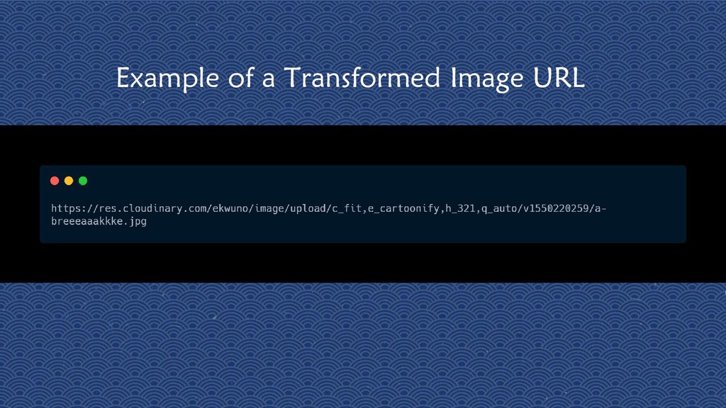 12 Example of a Transformed Image URL