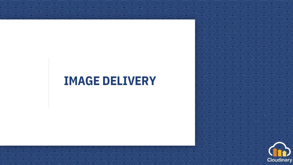 IMAGE DELIVERY