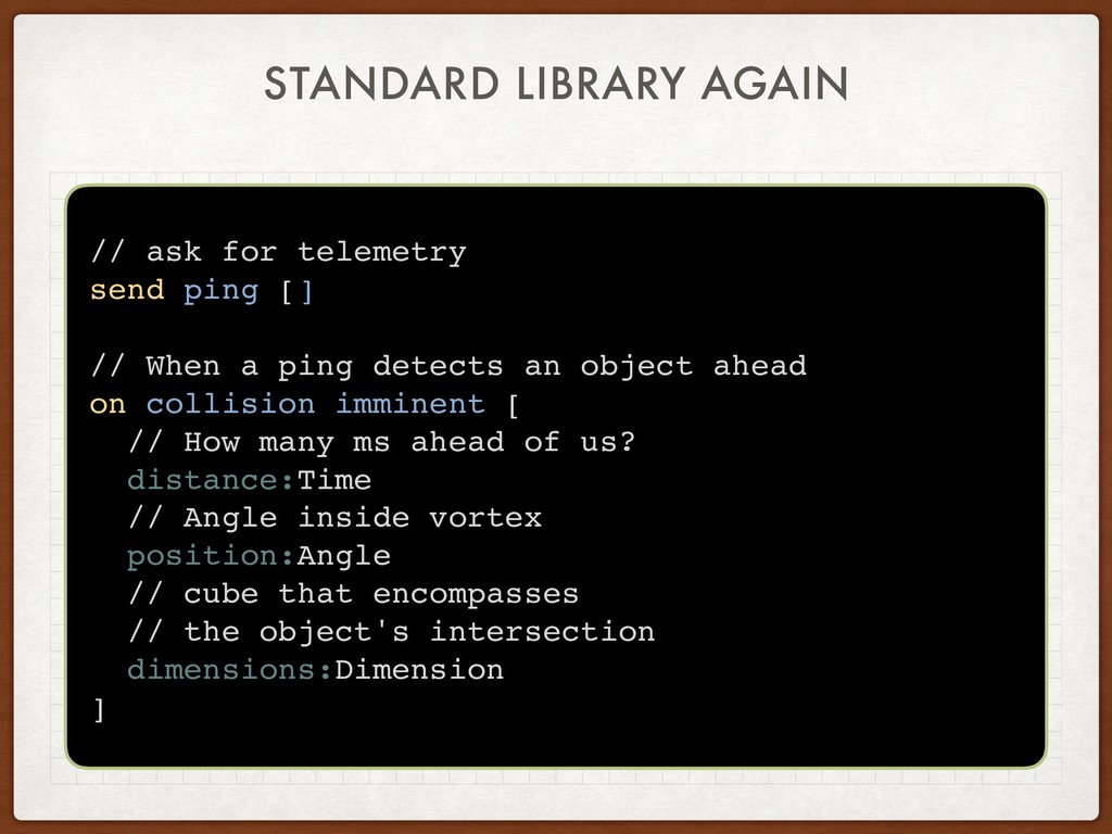 STANDARD LIBRARY AGAIN // ask for telemetry sen...