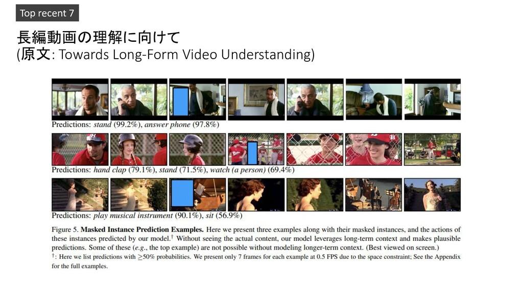 長編動画の理解に向けて (原文: Towards Long-Form Video Unders...