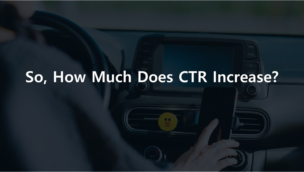 So, How Much Does CTR Increase?