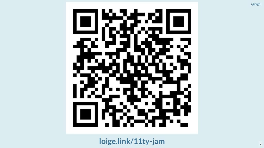 @loige loige.link/11ty-jam 2