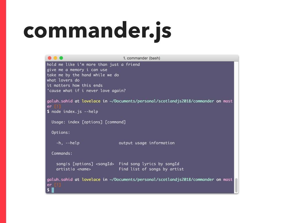 commander.js