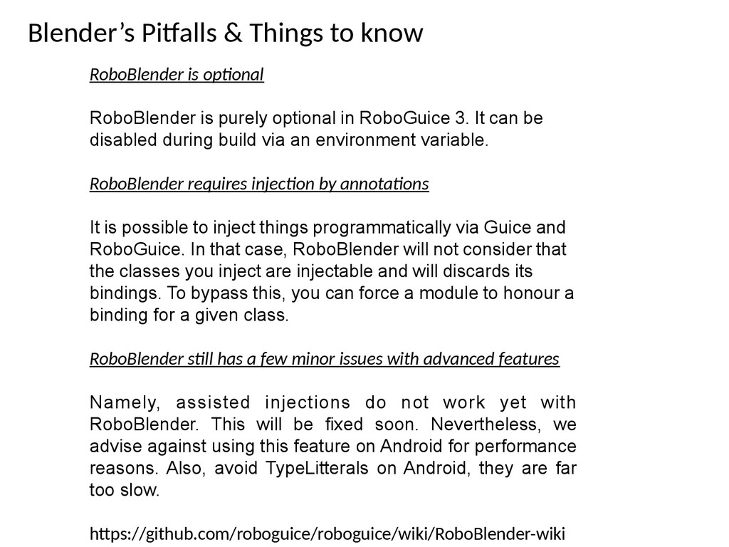 Blender's Pitalls & Things to know RoboBlender ...