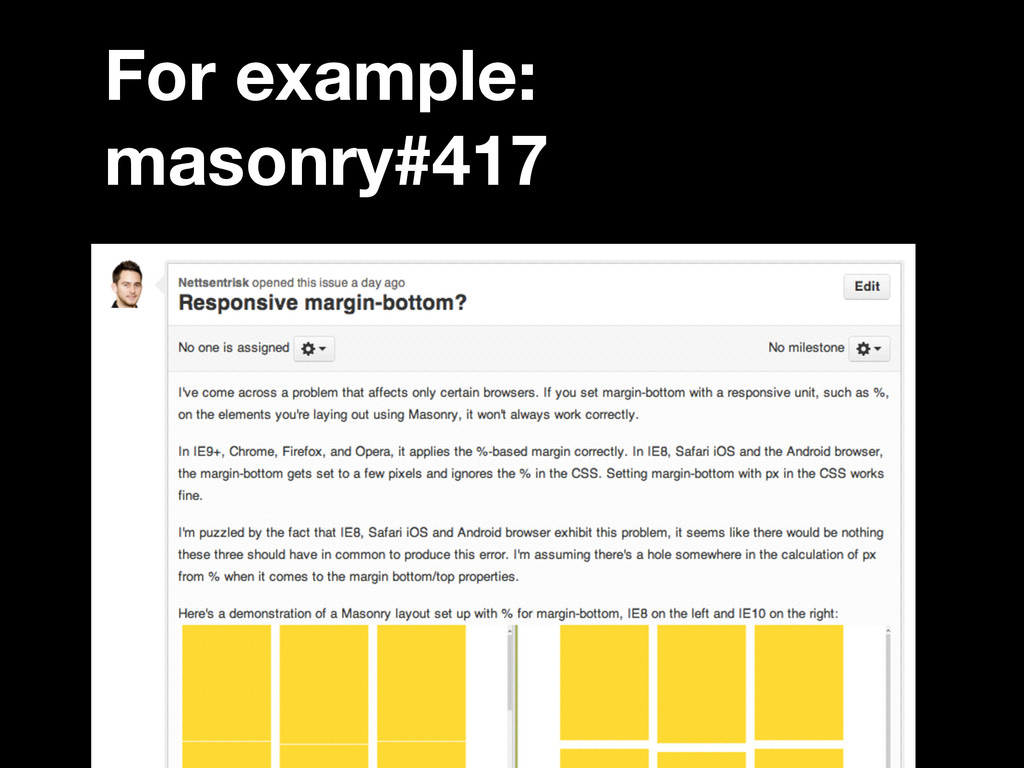For example: masonry#417