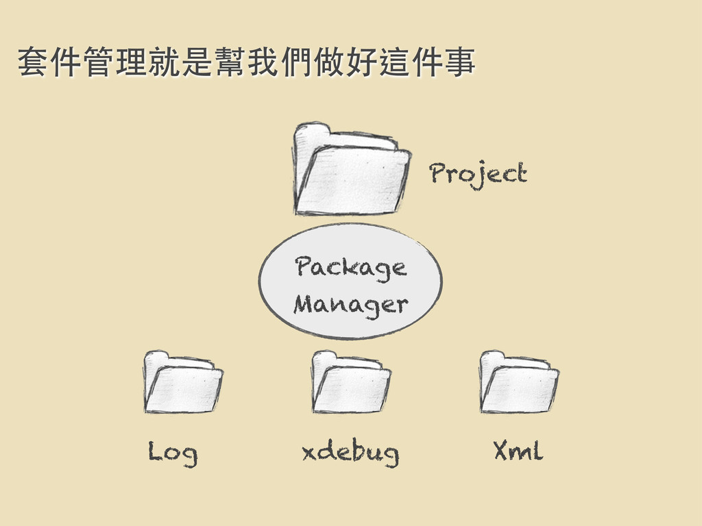 Project 套件管理就是幫我們做好這件事 Package Manager Log xdeb...