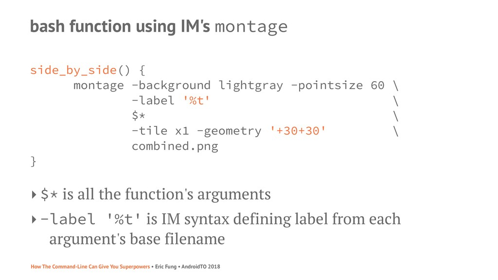 bash function using IM's montage side_by_side()...