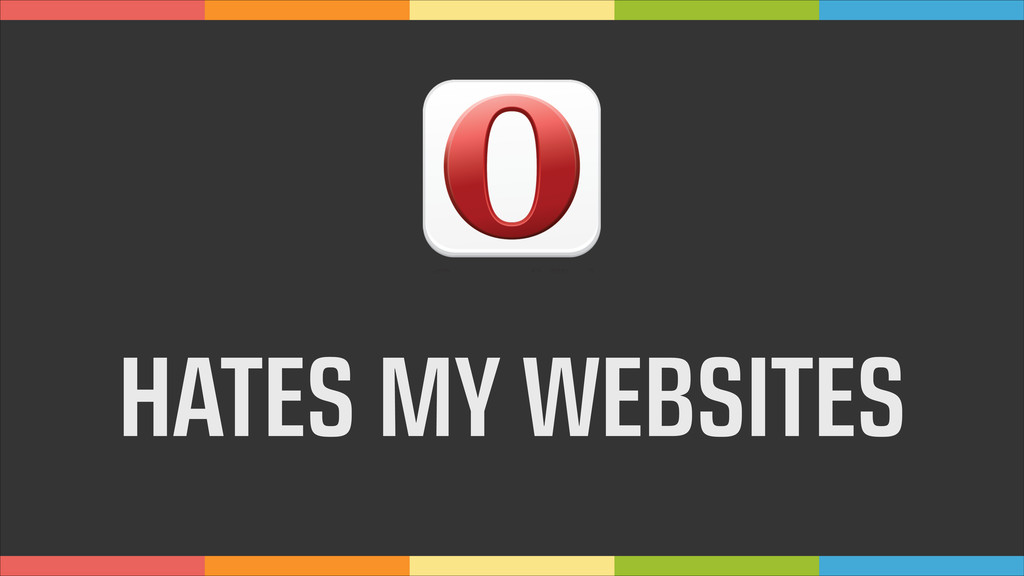 HATES MY WEBSITES