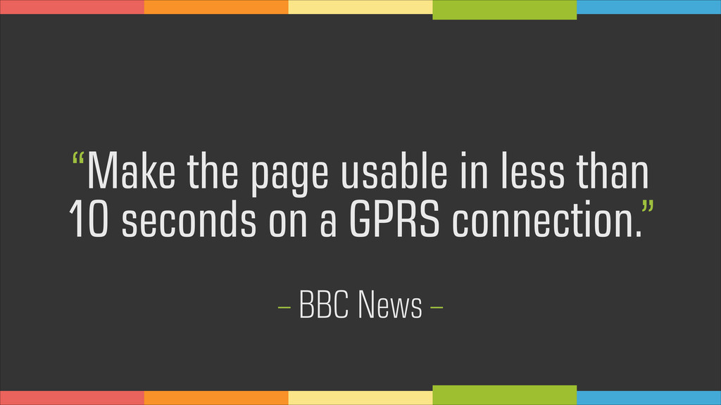 """Make the page usable in less than 10 seconds o..."