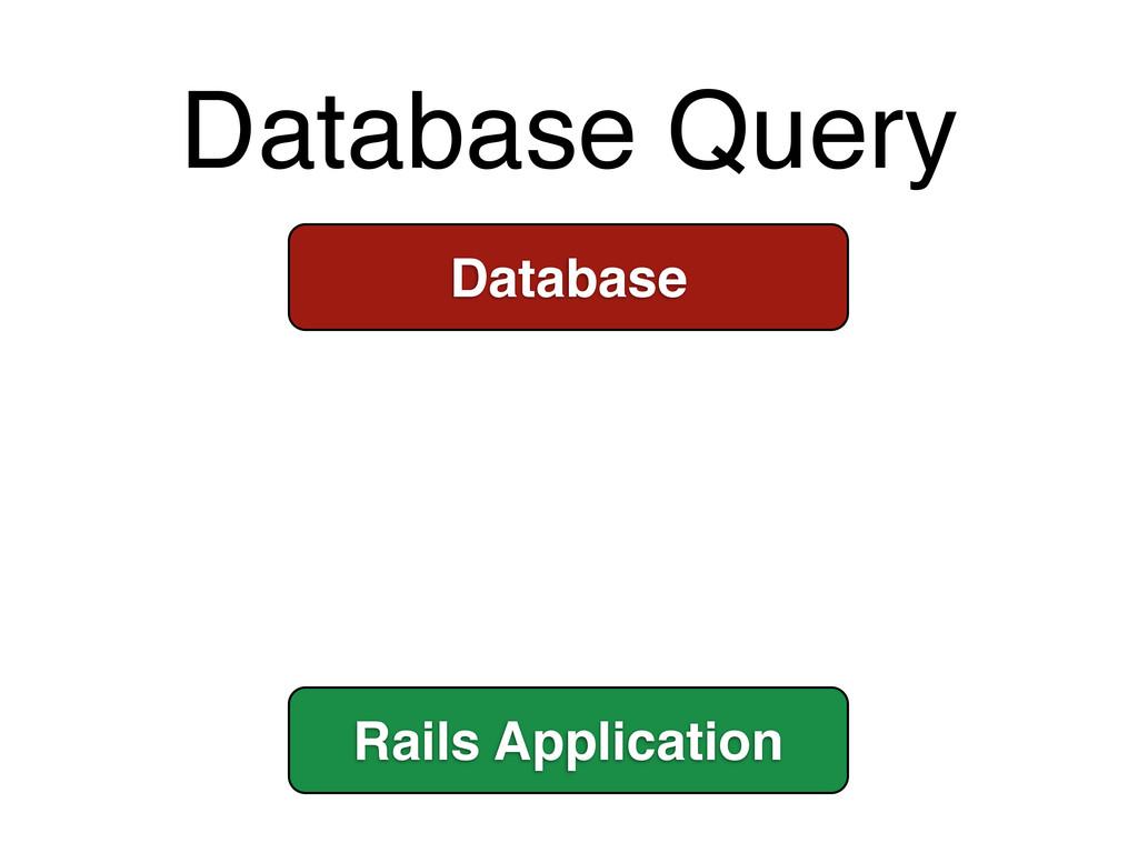 Database Query Database Rails Application