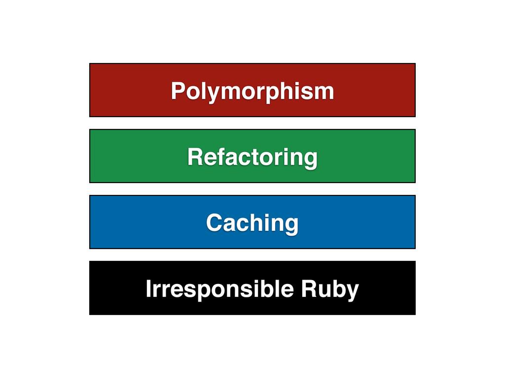 Polymorphism Refactoring Caching Irresponsible ...