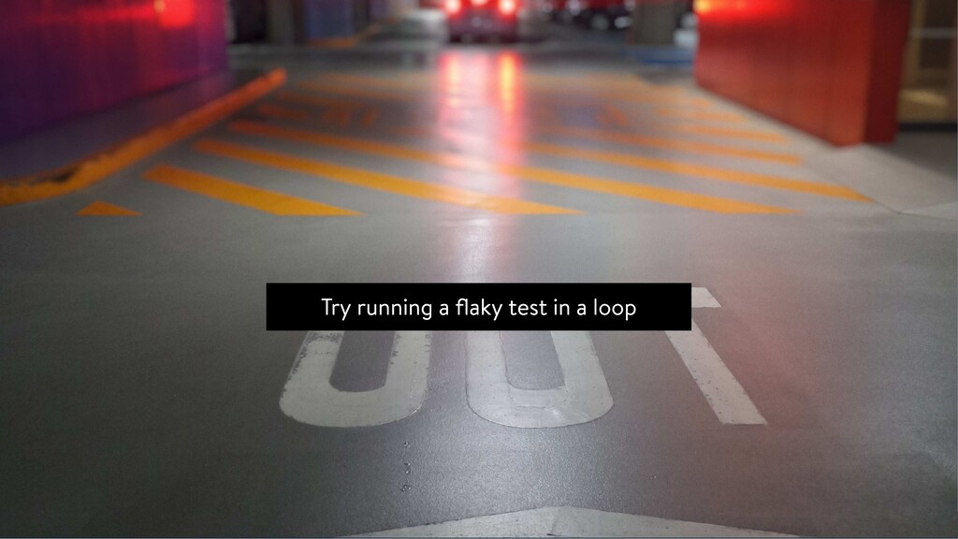 Flaky tests - Fighting nightmares @leichteckig ...
