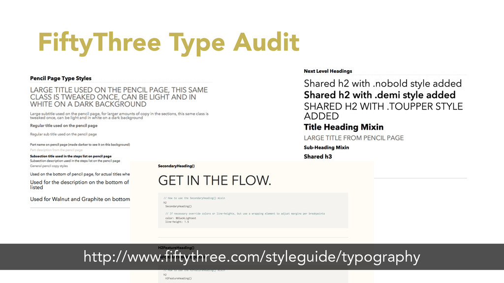 FiftyThree Type Audit http://www.fiftythree.com...