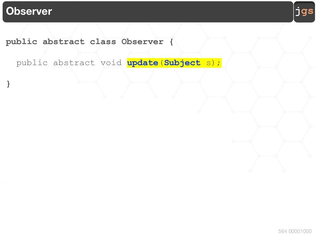 jgs 564 00001001 Scenario JFrame Observable + a...