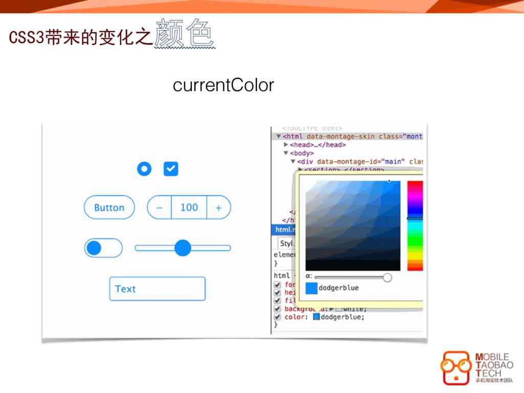 CSS3带来的变化之颜色 currentColor