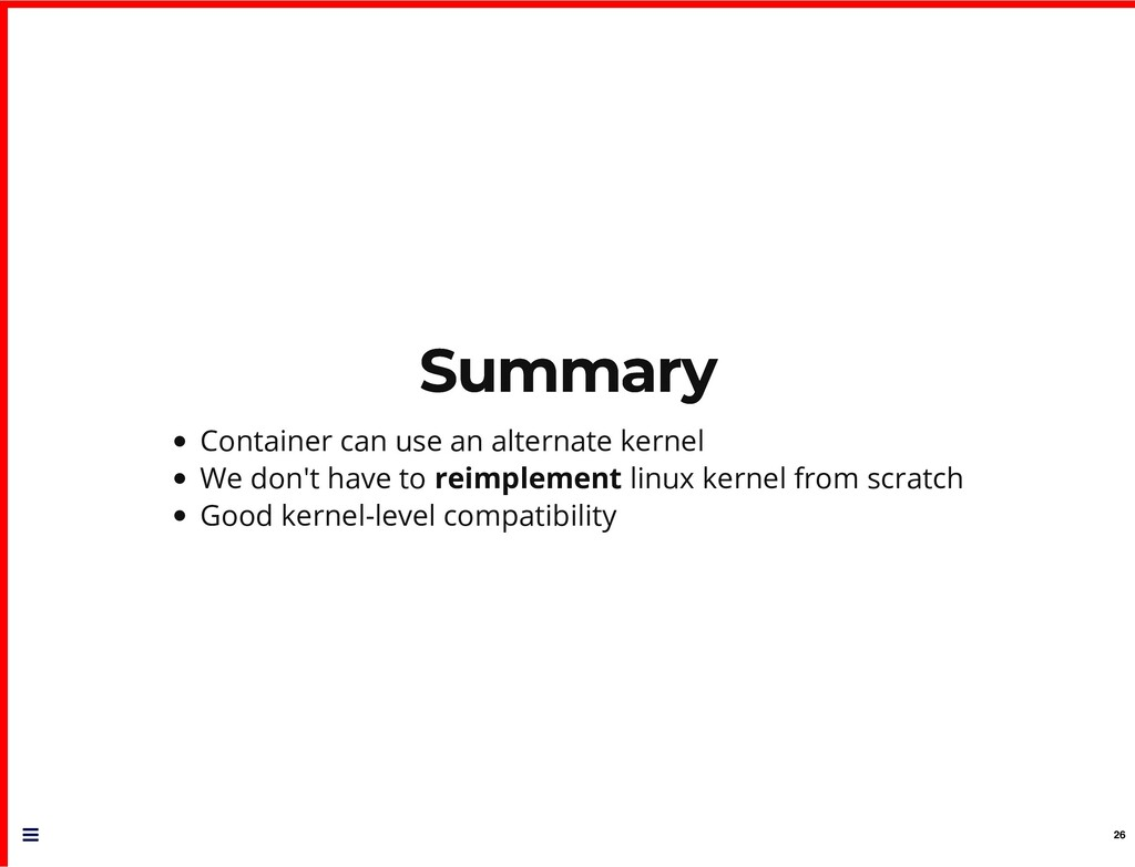 Summary Summary Container can use an alternate ...