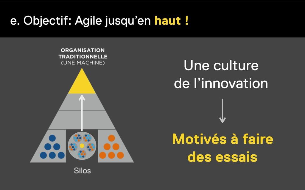 e. Objectif: Agile jusqu'en haut ! Motivés à fa...