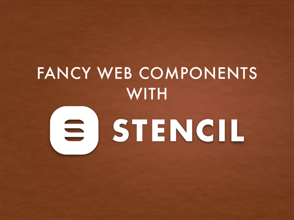 FANCY WEB COMPONENTS WITH