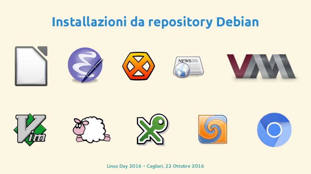 Linux Day 2016 - Cagliari, 22 Ottobre 2016 Inst...