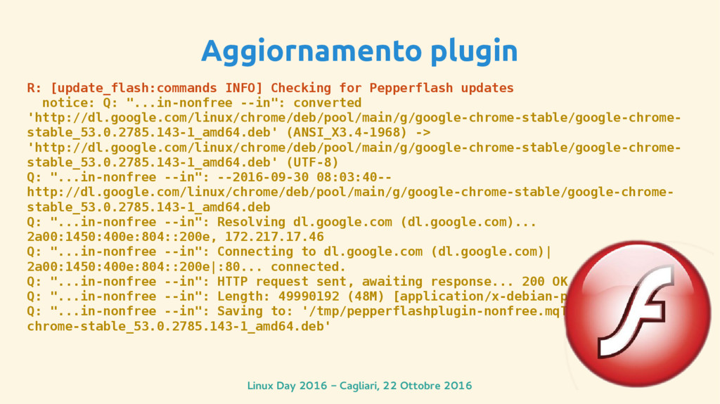 Linux Day 2016 - Cagliari, 22 Ottobre 2016 Aggi...