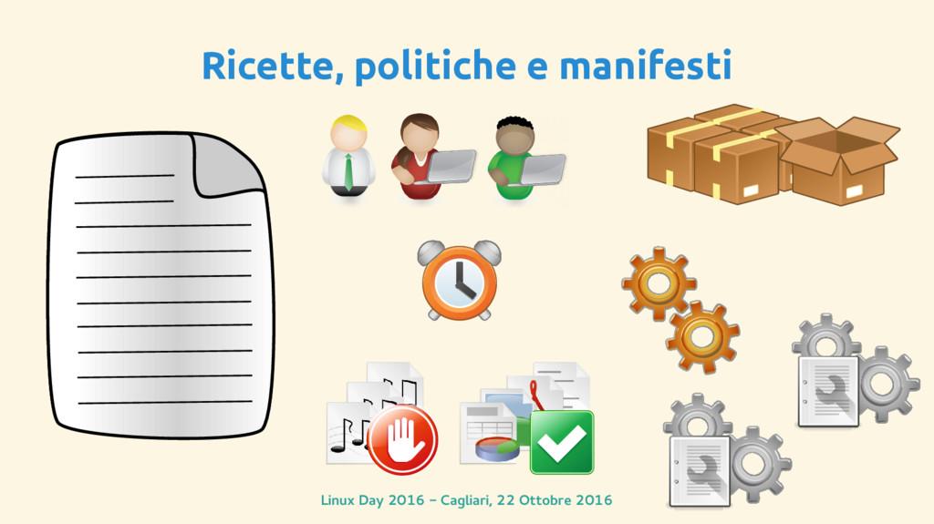 Linux Day 2016 - Cagliari, 22 Ottobre 2016 Rice...
