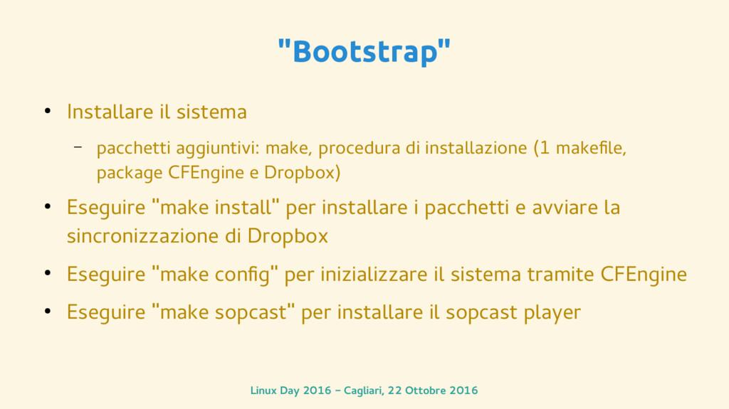 """Linux Day 2016 - Cagliari, 22 Ottobre 2016 """"Boo..."""