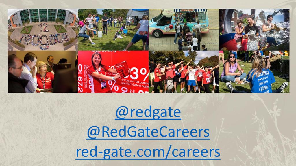 @redgate @RedGateCareers red-gate.com/careers