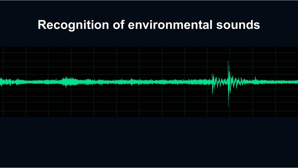 Recognition of environmental sounds