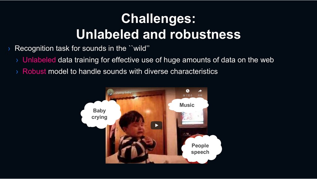 Challenges: Unlabeled and robustness › Recognit...