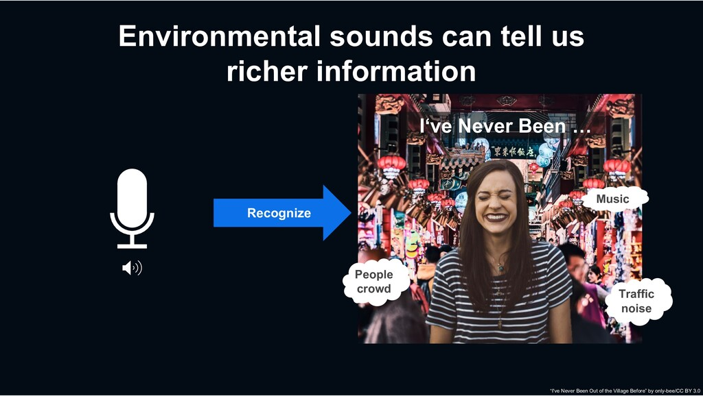 Environmental sounds can tell us richer informa...