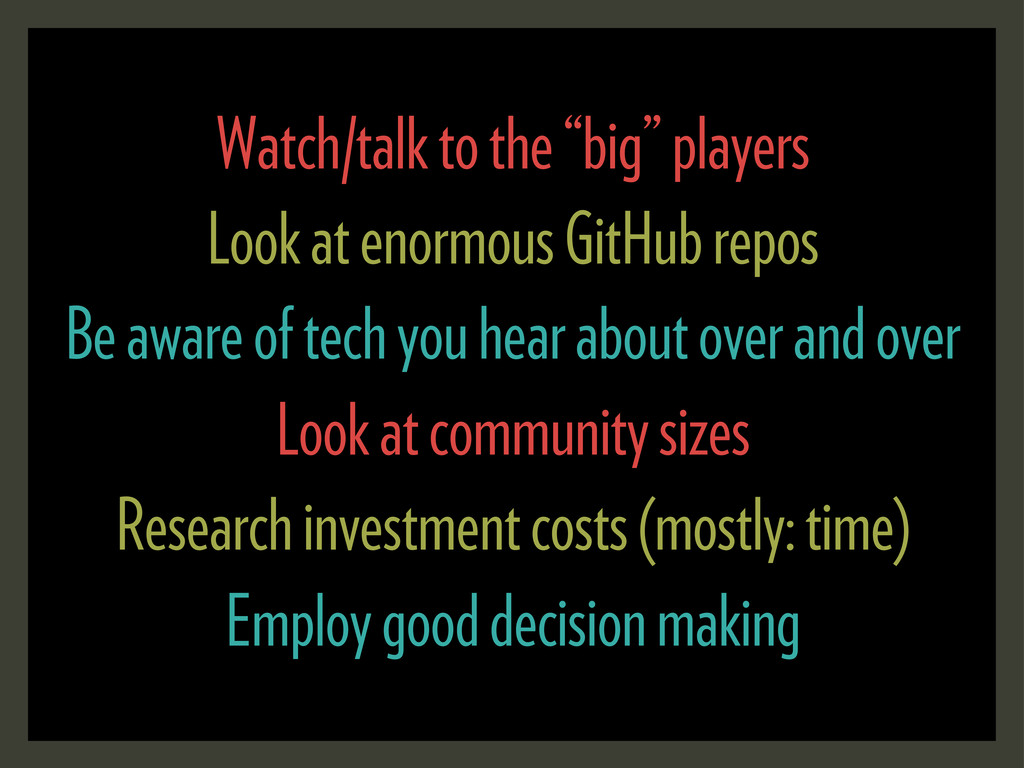 """Watch/talk to the """"big"""" players Look at enormou..."""