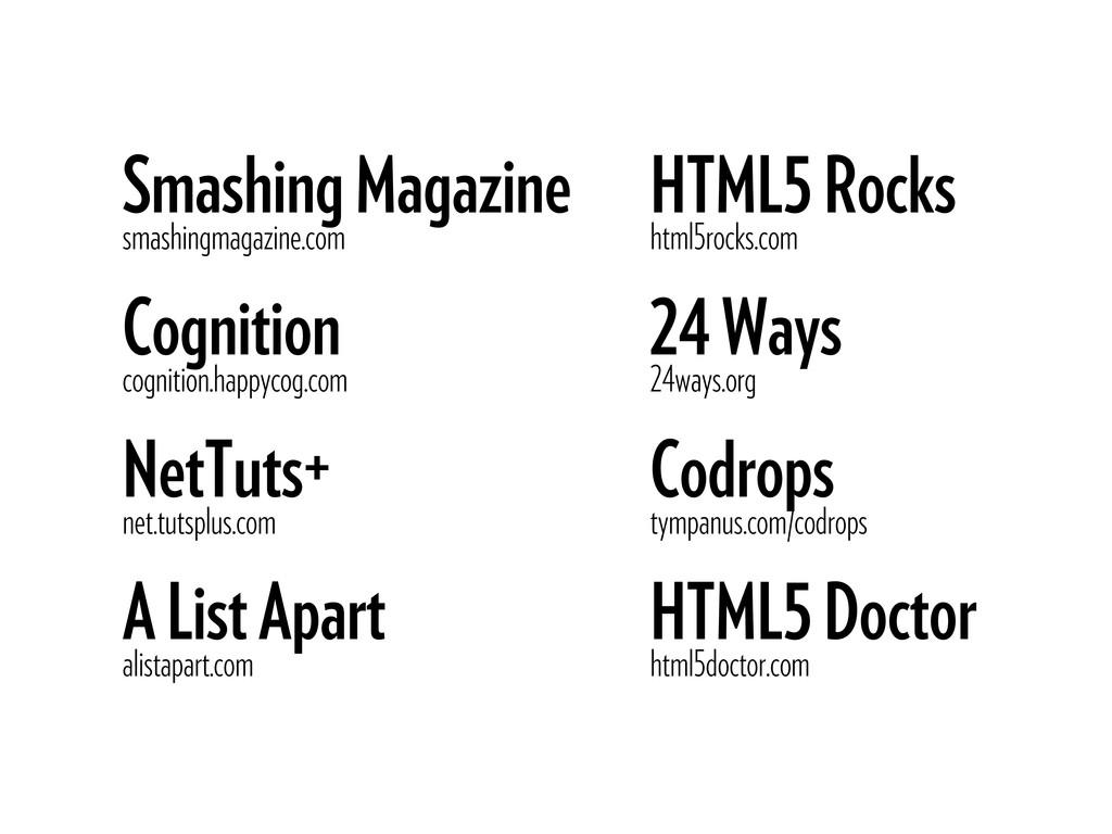 Smashing Magazine smashingmagazine.com Cognitio...